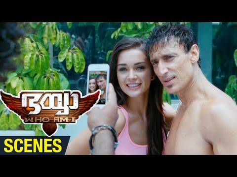 Bhaiyya My Brother Malayalam Movie Scenes | Amy Jackson Impressed by Rahul Dev | Ram Charan | DSP