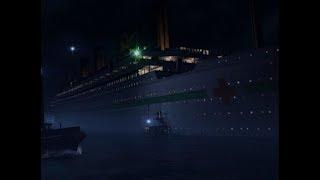 HMHS Britannic departing