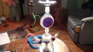 All Glass Hookah - www.hookah-time.com - Coolest Hookah Ever