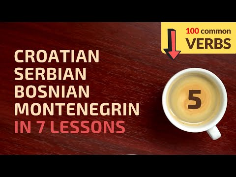 Learn Croatian, Bosnian, Serbian, Montenegrin in 7 lessons! #3