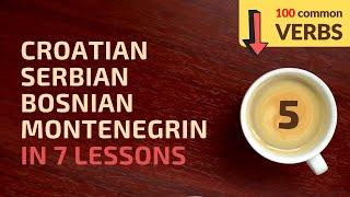 Learn Croatian, Bosnian, Serbian, Montenegrin in 7 lessons! #3