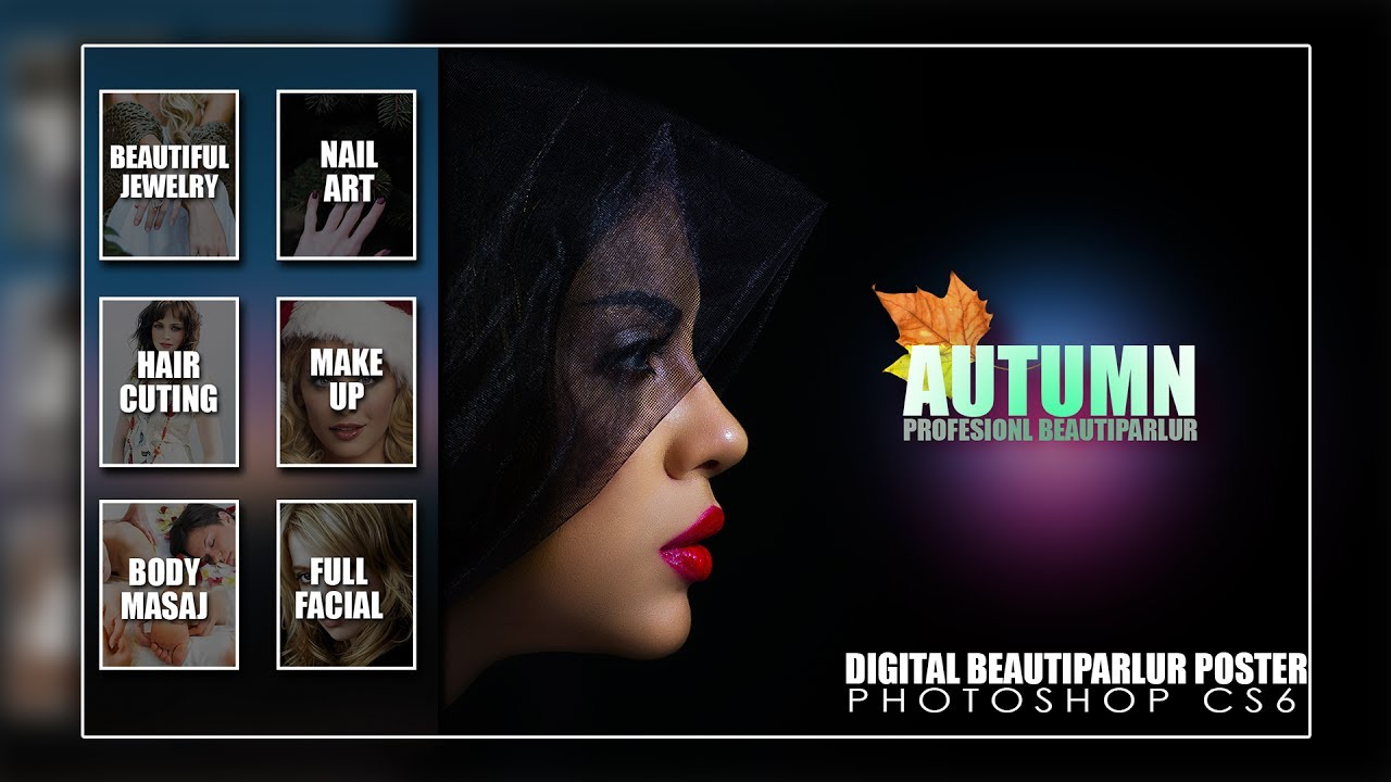 how to design beauty salon marketing and promotion design