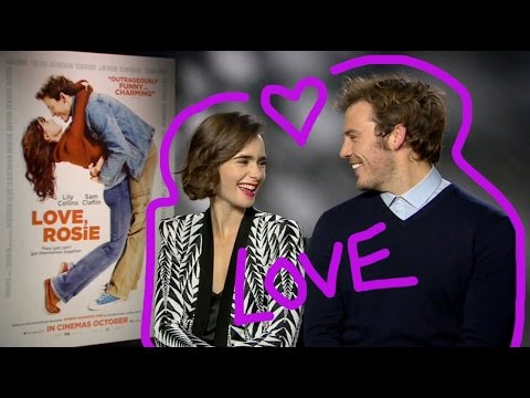 Love, Rosie stars Sam Claflin and Lily Collins play our love quiz