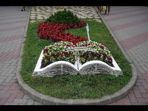 Виды и названия цветников и клумб с фото модульный