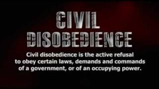Civil Disobedience- Are You Ready?