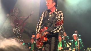 Brian Setzer Lets Shake live at the Genesee Theater Christmas Rocks Tour 2015
