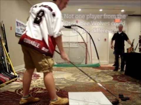 Broken Hockey Stick Integral Hockey Challenge