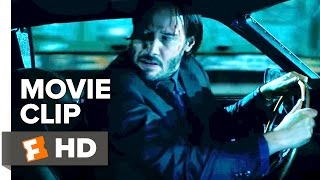 John Wick: Chapter 2 Movie CLIP - Car Chase (2017) - Keanu Reeves Movie