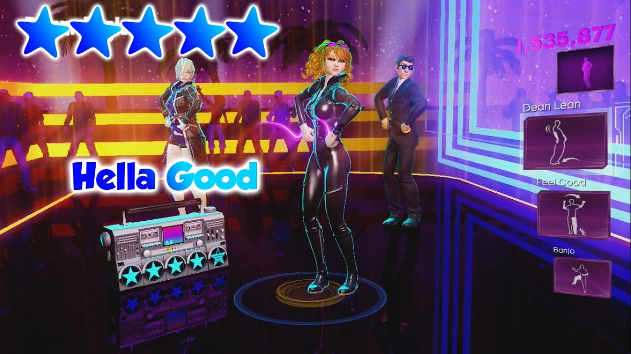 Dance Central 3 - Hella Good (DC1 Import) - 5 Gold Stars ...