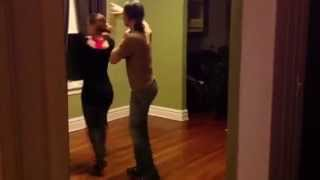 The Chicago Pro Team Salsa and Ruth Diaz  hermano Abel practice