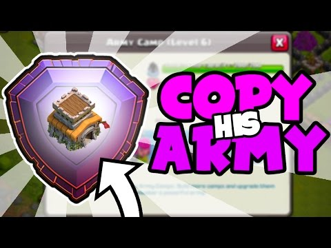 USING THE WORLDS 4th TH8 LEGEND LEAGUE PLAYER ARMY In Clash of Clans!