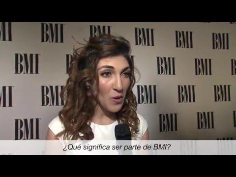 Ana Victoria Entrevista – Los Premios Latinos BMI 2016