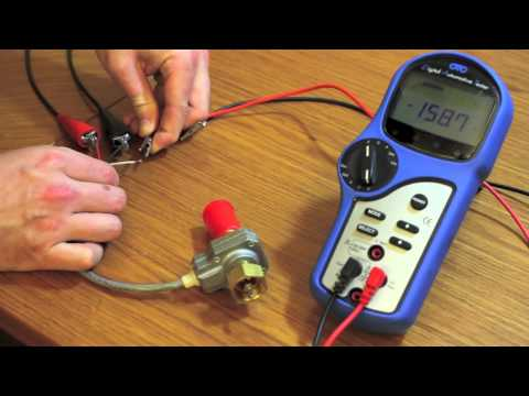 How To Test A 3 Wire Sd Sender - YouTube Hallefect Auto Meter Wiring Diagram on