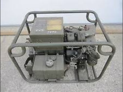 garage sale finds military generator aug 26 2017