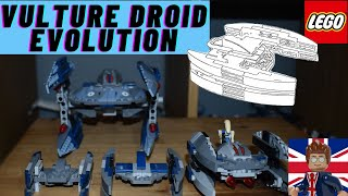 The Evolution of the LEGO Star Wars Vulture Droid!