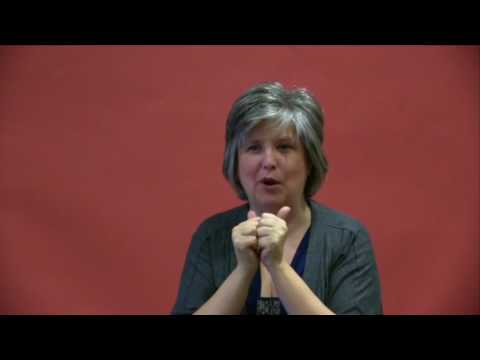 DATT Interview with Catherine MacKinnon ASL/Voice Over (Crossing Gibraltar Co-Facilitator)