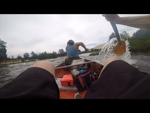 Canoe Trip Bass Fishing From The Hawkesbury River Into The Nepean River And Back..