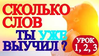 АНГЛИЙСКИЕ СЛОВА и Фразы- Проверь+Потренируй РАЗГОВОРНЫЙ Английский Для Начинающих С Нуля,УРОК 1 -3