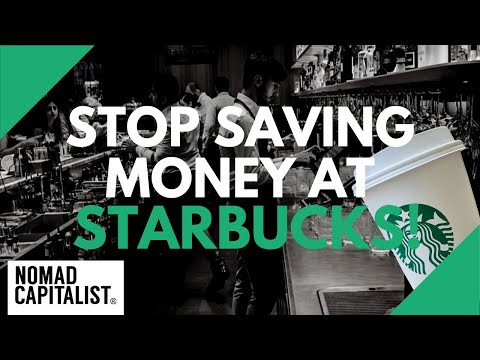 Stop Saving Money at Starbucks!