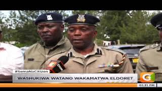 Washukiwa watano wa wizi wa kimabavu wakamatwa Eldoret