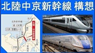 北陸と名古屋を結ぶ北陸中京新幹線構想