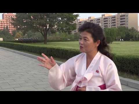 Guide Explains Pyongyang Monument to the Korean Workers Party, Part 1