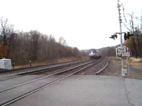 Pennsylvanian Train 42 At Carney Crossing, PA