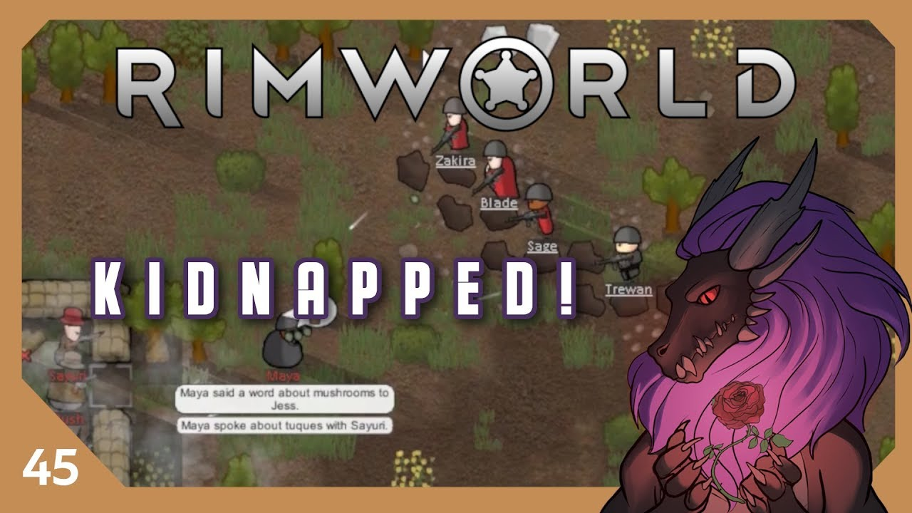 Kidnapped! | Let's Play Rimworld - Part 45