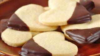 Shortbread Cookies Recipe Demonstration