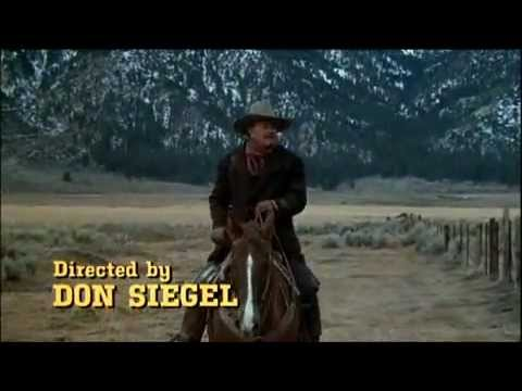 THE SHOOTIST 1976 -- OPENING TITLE SEQUENCE