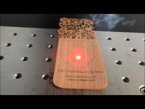 Marking on Wooden from CKD LASER CO , LTD