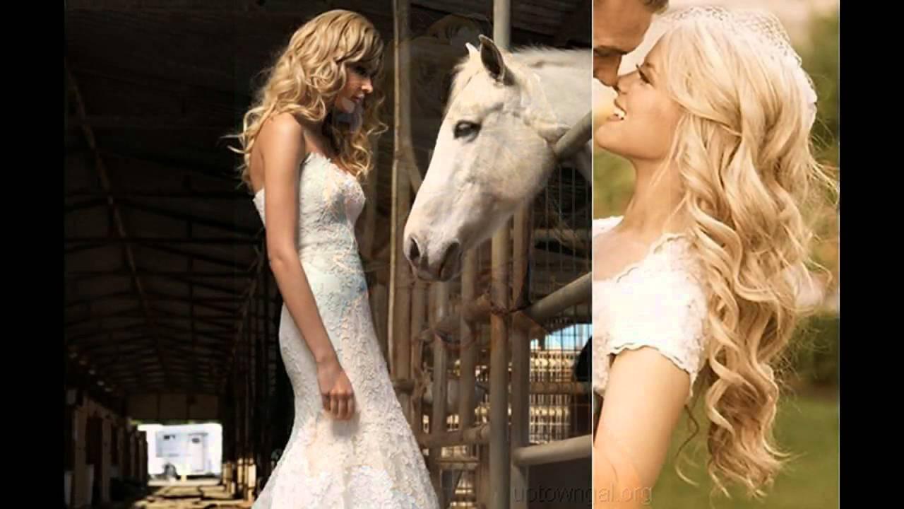 rizos sueltos peinados de boda peinados para bodas pelo rizado suelto