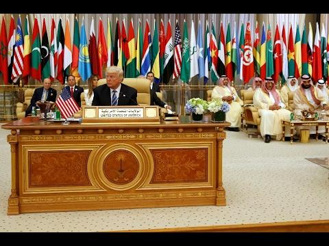 Trump calls on Arab world to unite against extremism