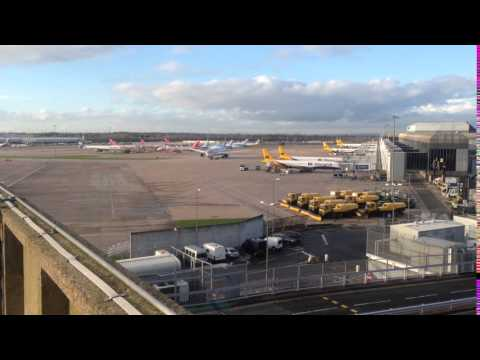 Manchester airport's ground movements