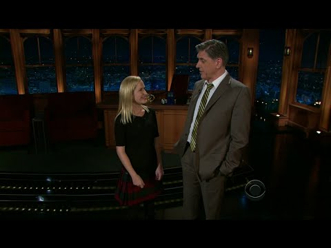 Late Late Show with Craig Ferguson 11/16/2011 Michael Ian Black, Alex Kingston