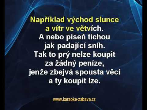 Štěstí je krásná věc - Richard Müler Karaoke tip