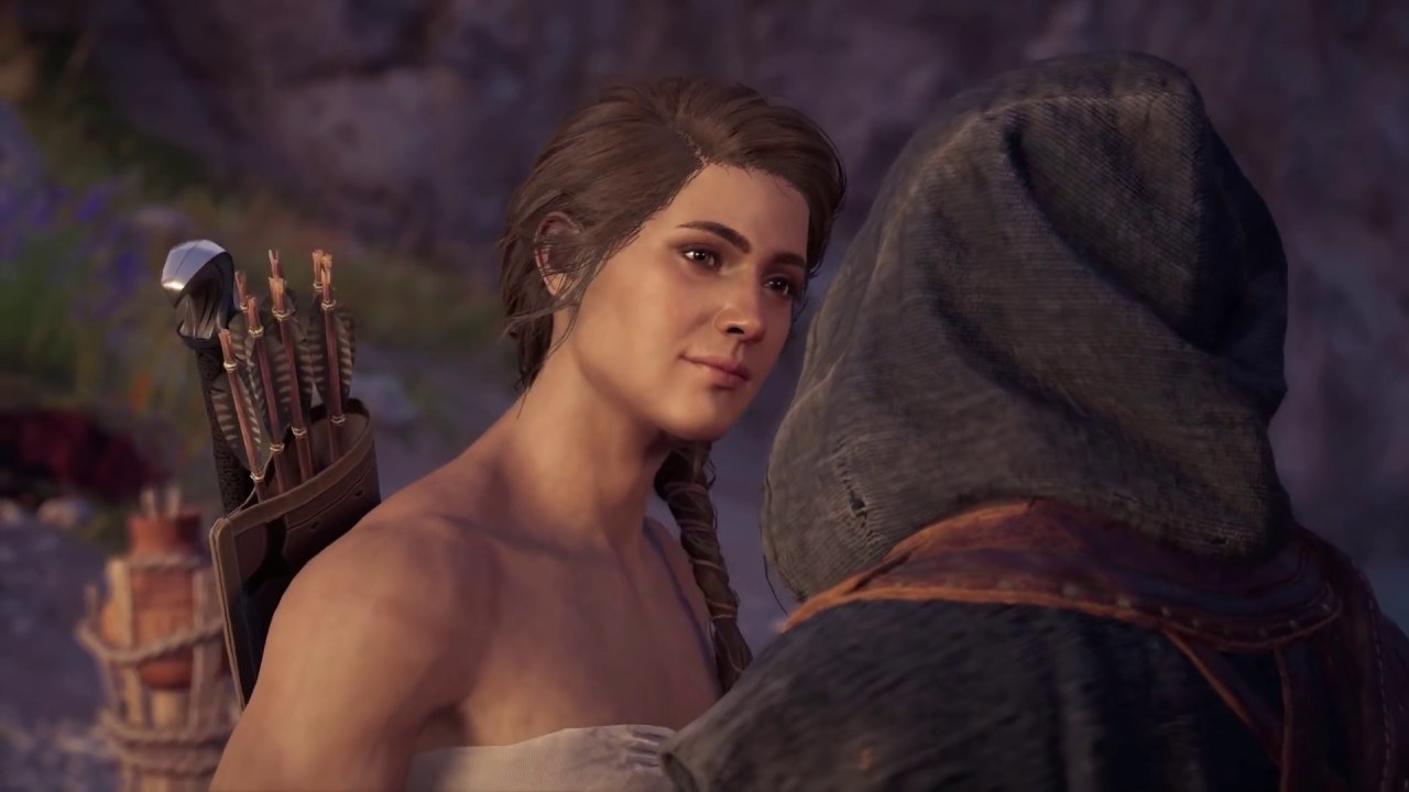Kassandra Has A Boy Both Variants Assassin S Creed Odyssey