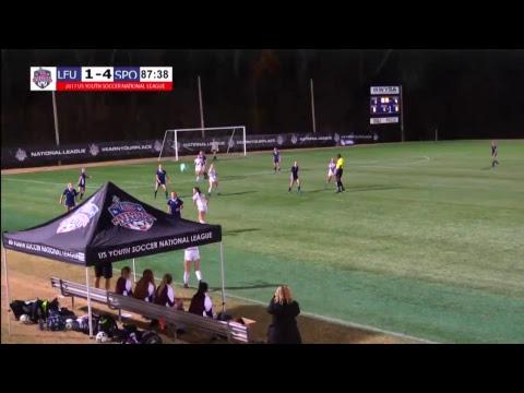 2017 National League - 18U Girls - 4pm - Livermore Fusion vs. Sporting Omaha
