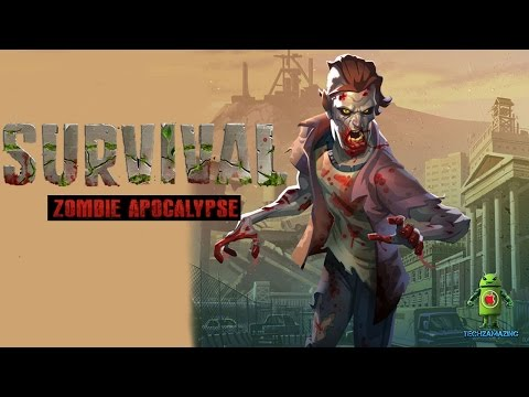 SURVIVAL ZOMBIE APOCALYPSE GAMEPLAY - iOS / Android Video - HD