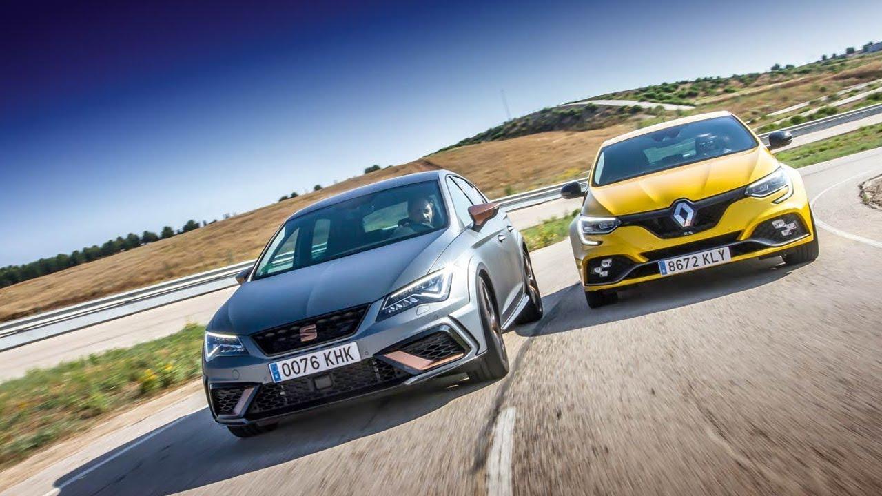 Unikalne 2018 Renault Megane RS vs 2018 Seat Leon Cupra R - YouTube ZD66