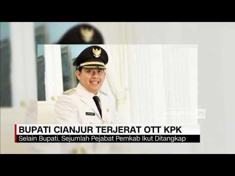 Bupati Cianjur Terjerat OTT KPK