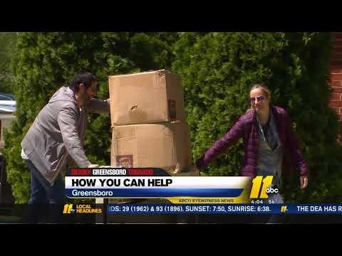 Greensboro tornado: How you can help
