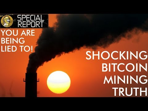The Shocking Truth About Bitcoin Mining – You Are Being Lied To!