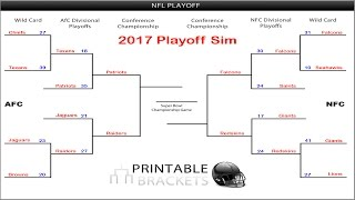 Madden NFL Playoffs 2017 Simulation - AFC & NFC Championship Games (Road to 5K Subs)