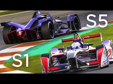 The New Sound Of Formula E: Season 1 vs. Season 5
