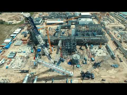HEAVY LIFTING BY LR11350 | LIEBHERR | No 3 Crane Terbesar di Dunia