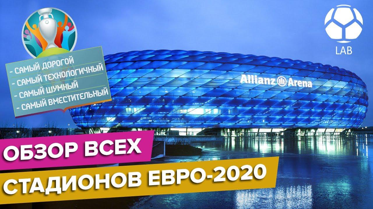 Обзор всех стадионов ЕВРО-2020 | Какой самый дорогой и технологичный?