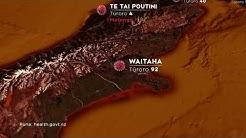 Covid-19 NZ Map: Monday, April 6
