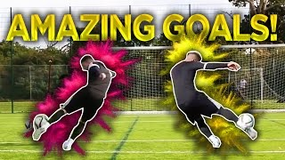 The F2 Recreate AMAZING Goals Part 2! - Can You Guess Who???