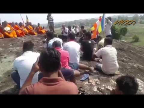 Monks erecting Buddha statue in Amparai summoned to court
